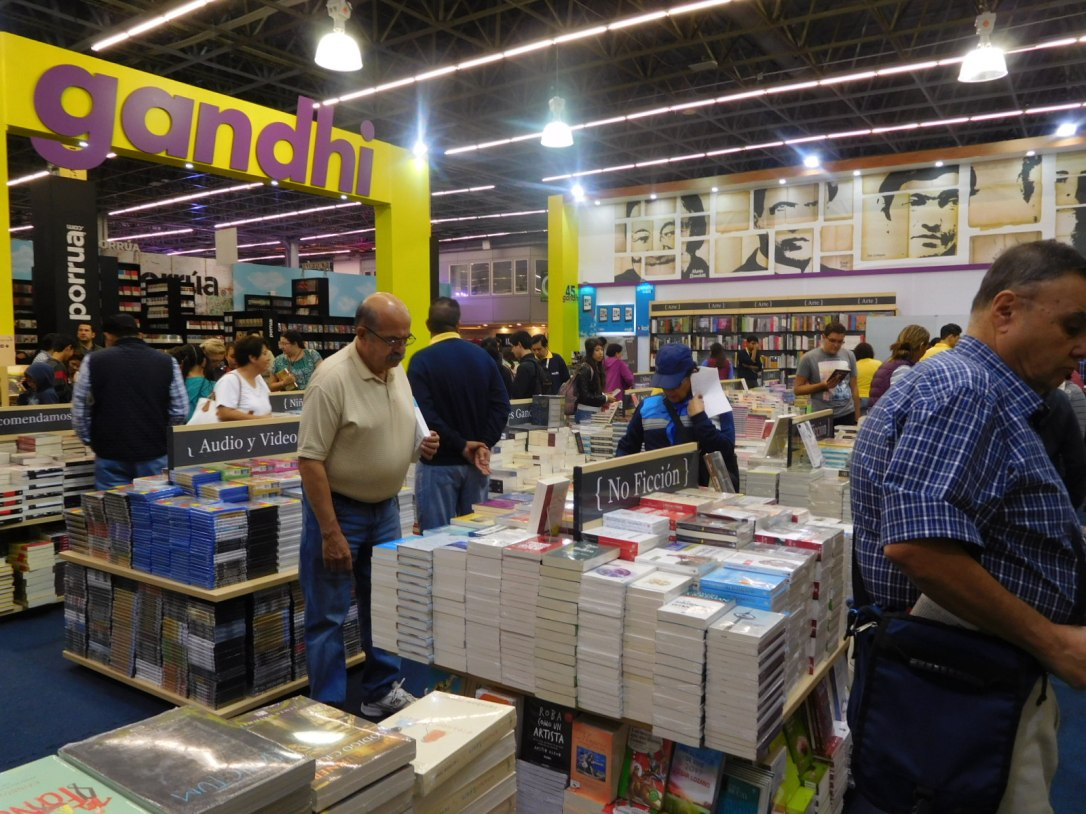 Gandhi Bookstores at GDL Book Fair 2016