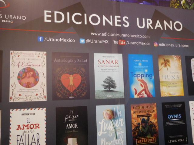 Ediciones Urano wellness titles
